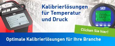 Optimale Kalibrierlösungen für Temperatur & Druck für Ihre Branche